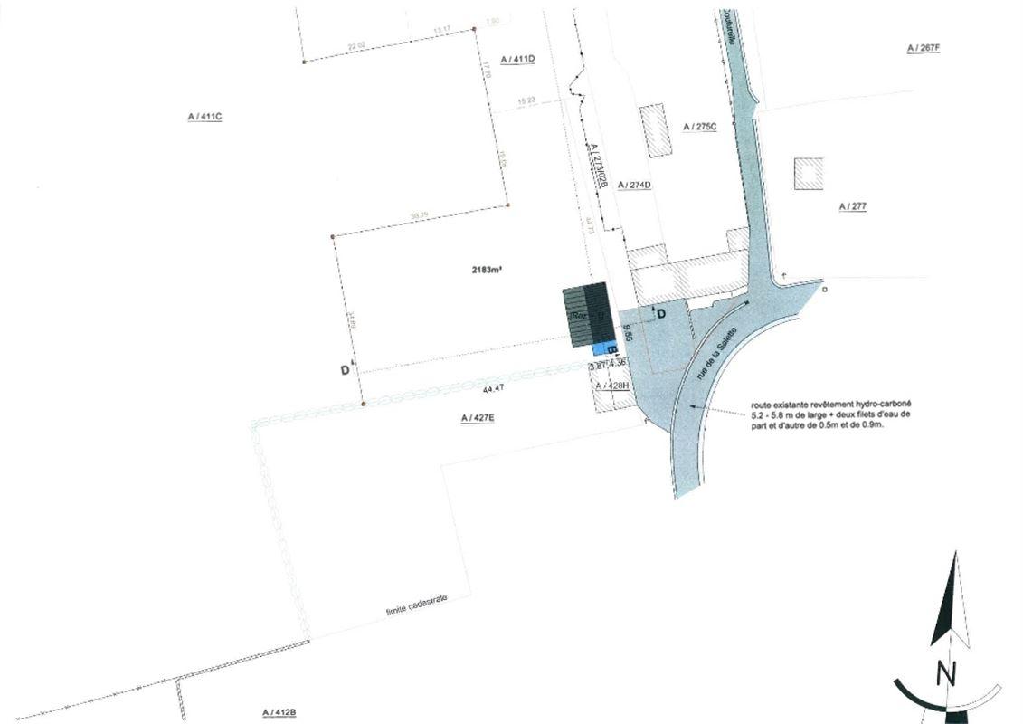 Image 5 : Terrain à bâtir à 5600 NEUVILLE (Belgique) - Prix 75.000 €