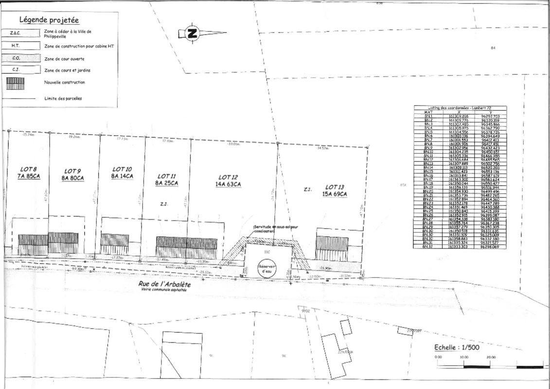 Image 14 : Terrain à bâtir à 5600 NEUVILLE (Belgique) - Prix 76.000 €