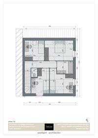 Foto 6 : Nieuwbouw Klassevolle nieuwbouwwoningen | Wortegem-Petegem te WORTEGEM (9790) - Prijs Van € 337.500 tot € 379.500