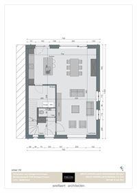 Foto 5 : Nieuwbouw Klassevolle nieuwbouwwoningen | Wortegem-Petegem te WORTEGEM (9790) - Prijs Van € 323.500 tot € 369.500