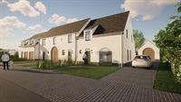 Foto 2 : Nieuwbouw Klassevolle nieuwbouwwoningen | Wortegem-Petegem te WORTEGEM (9790) - Prijs Van € 323.500 tot € 369.500