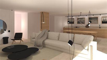 Rés. Feniks - Appartement avec 3 chambres à coucher - 184m² - Situé côté soleil avec vue latérale sur mer au Hendrikaplein à Nieuport-Bain - H...