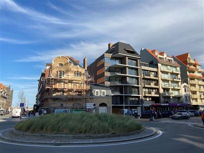 Rés. Feniks - Appartement avec chambre à coucher - 78m² - Situé côté soleil avec vue latérale sur mer au Hendrikaplein à Nieuport-Bain - Hall ...