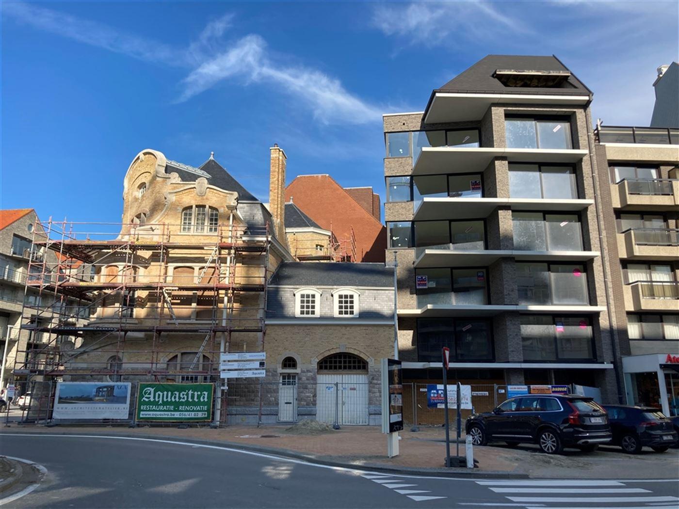 Res. Feniks 0102 - Ruim nieuwbouwappartement met slaapkamer - Uitzonderlijke ligging met zicht op Hendrikaplein en zijdelings zeezicht - Zonnig gelege...