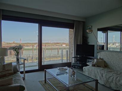 Res. Den Oever V 0108 - Appartement op topligging aan de Havengeul - Gelegen op de eerste verdieping, voorzien van twee slaapkamers - Ruime inkomhal m...