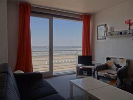 Res. Viviane 0402 - Gezellig appartement met pracht zeezicht - Gelegen op de vierde verdieping op de Zeedijk - Lichtrijke leefruimte uitgevend op het ...