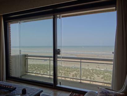 Res. Spinnaker II 0601 - Gezellig appartement met twee slaapkamers - Fantastisch zeezicht van op de zesde verdieping - Royale inkom - Toilet - Leefrui...