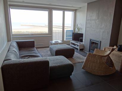 Res. Beaulieu 0301 - Ruim appartement met drie slaapkamers - Fantastisch zicht op zee en staketsel van op de derde verdieping - Inkom - Leefruimte met...