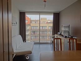 Res. Santhooft C 412 - Gezellige studio met terras op wandelafstand van het strand - Gelegen op de 4de verdieping, uitgevend op de Franslaan - Inkomha...