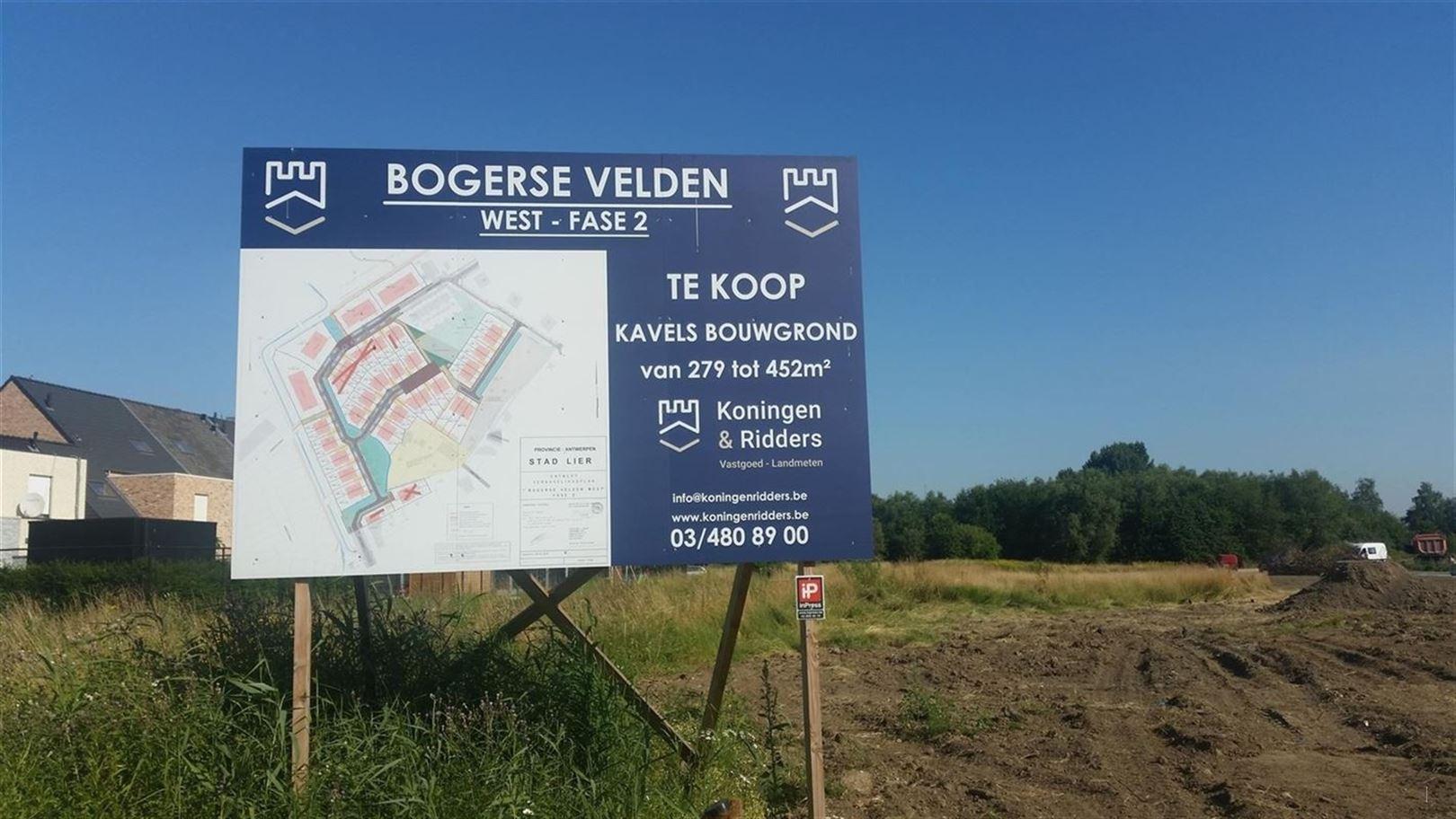 Bouwgrond te 2500 LIER (België) - Prijs