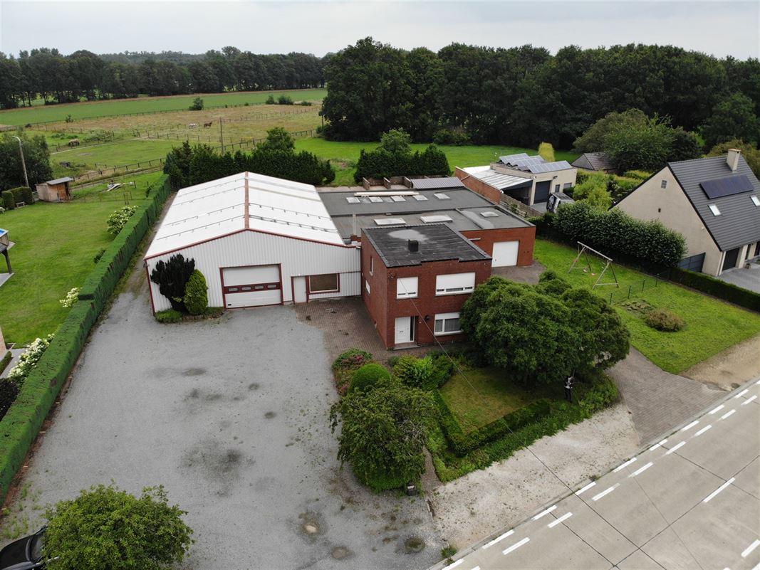 Foto 1 : Magazijn met woonst te 2222 ITEGEM (België) - Prijs € 760.000