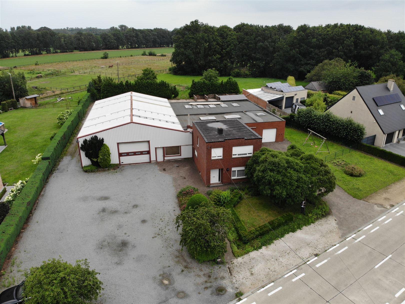 Magazijn met woonst te 2222 ITEGEM (België) - Prijs € 760.000