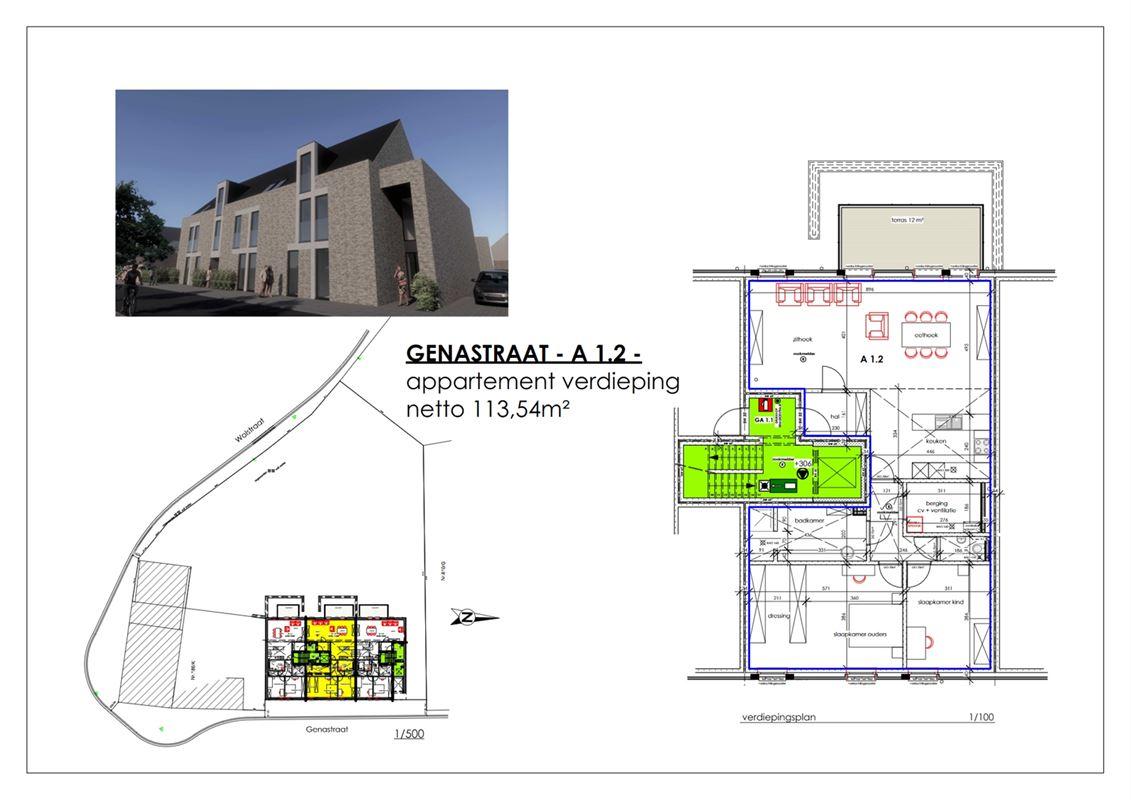 Foto 9 : Appartement te 3960 BREE (België) - Prijs € 226.800