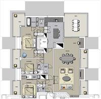 Foto 1 : Appartement te 8620 NIEUWPOORT (België) - Prijs € 850.000