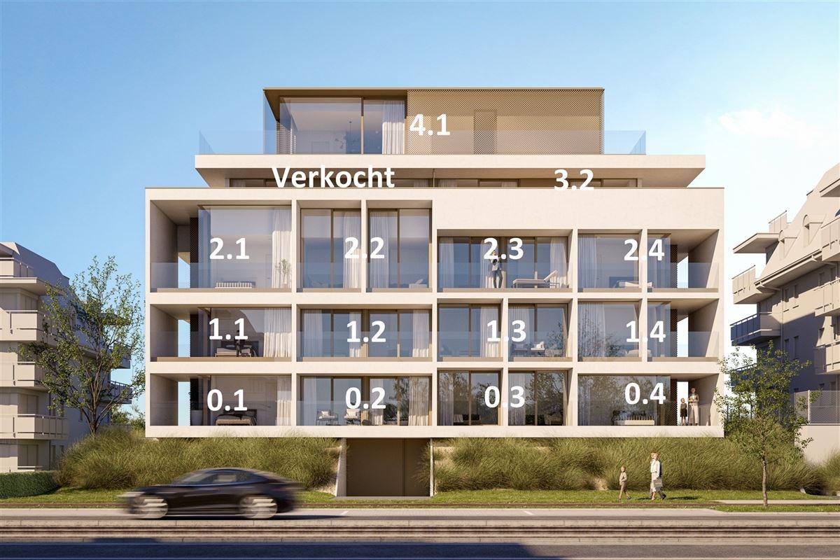 Foto 6 : Penthouse te 8620 NIEUWPOORT (België) - Prijs Prijs op aanvraag