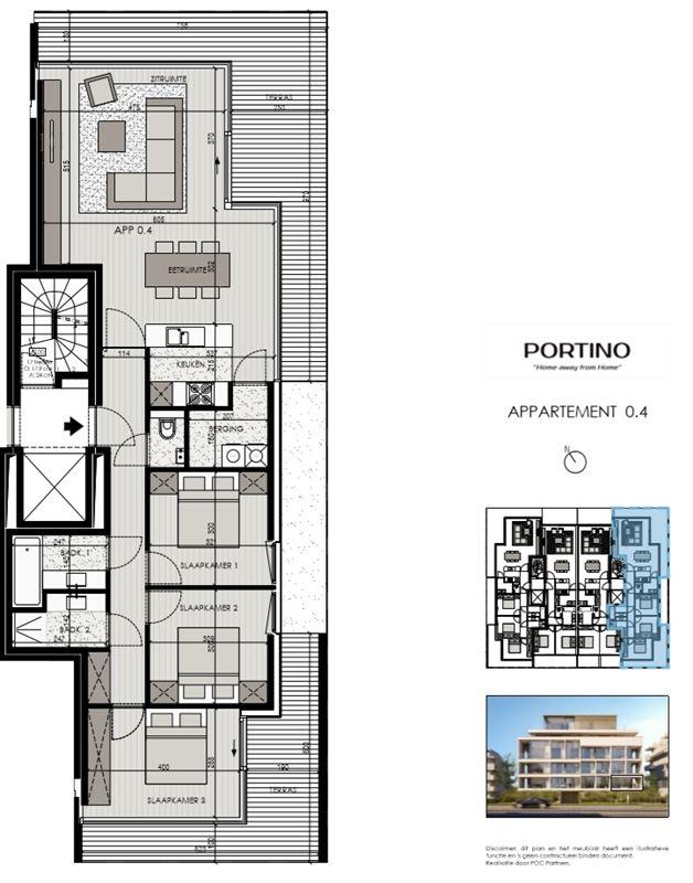 Foto 2 : Appartement te 8620 NIEUWPOORT (België) - Prijs Prijs op aanvraag