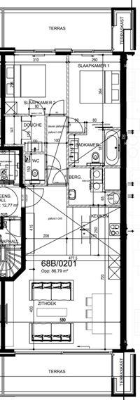 Foto 37 : Appartement te 8620 NIEUWPOORT (België) - Prijs € 525.000