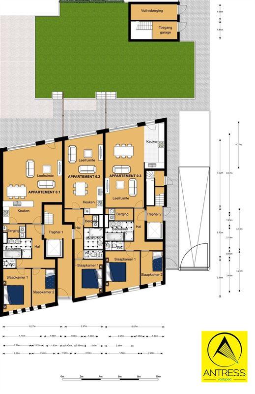 Foto 3 : Appartement te 2600 Berchem (België) - Prijs € 277.500