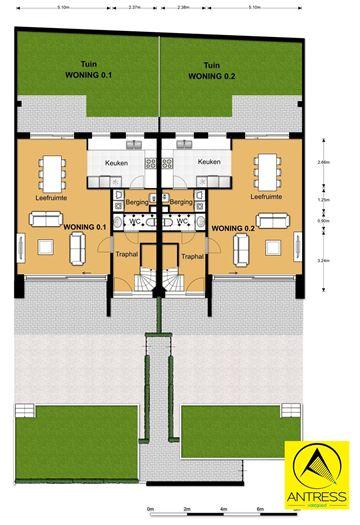 Foto 5 : Appartement te 2600 Berchem (België) - Prijs € 277.500