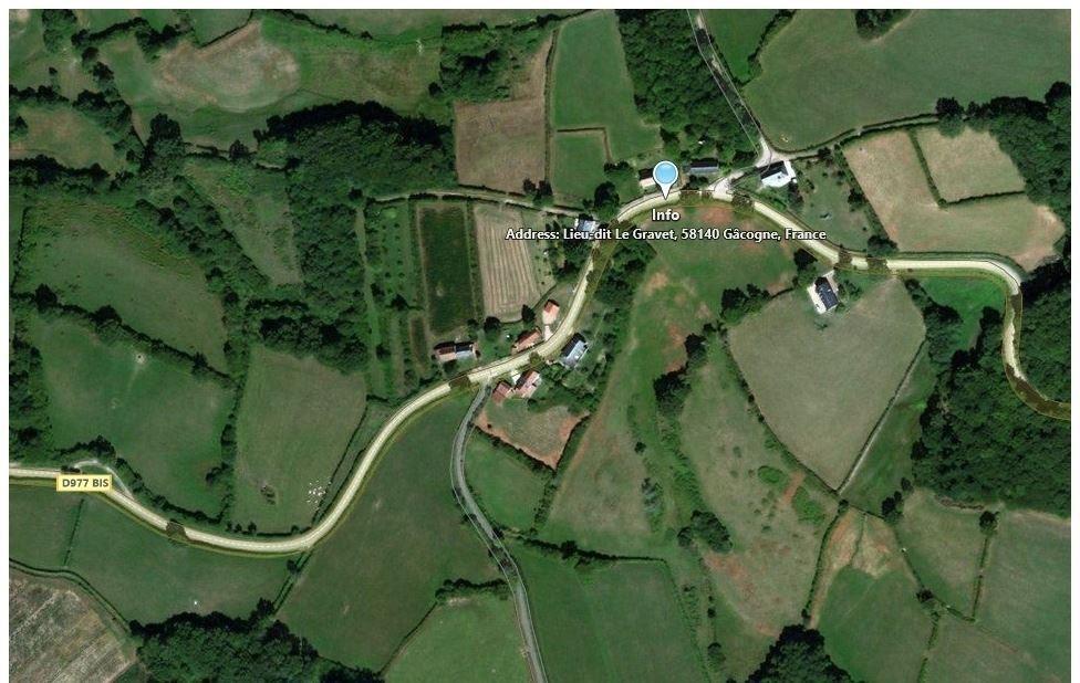 Image 7 : Villa meublée à 58140 GACOGNE (France) - Prix 400 €
