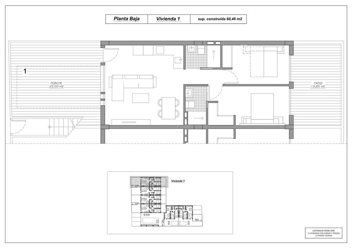 Foto 9 : Appartement te 30740 SAN PEDRO DEL PINATAR (Spanje) - Prijs € 139.900