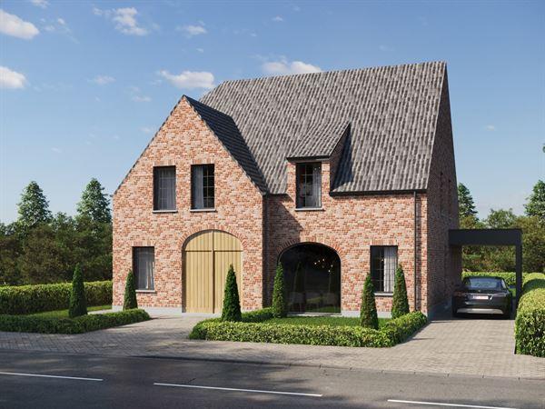 Instapklare landelijke halfopen bebouwing in het hartje van de Leiestreek. Gelegen in een rustige residentiele verkaveling tussen Sint-Martens-Latem e...