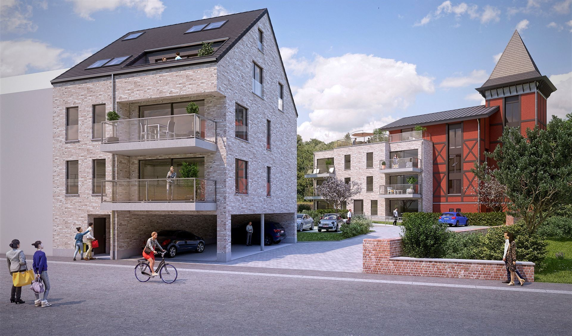 RESIDENCE LES FIGUIERS - COMPIEGNE HUY - 4500 HUY