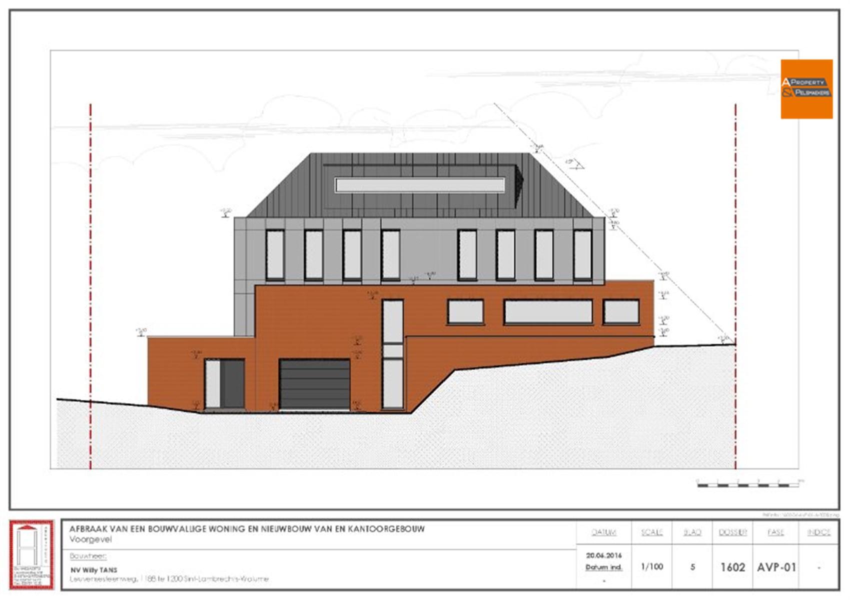 Image 1 : Immeuble de bureaux à 1932 Sint-Stevens-Woluwe (Belgique) - Prix 315.000 €