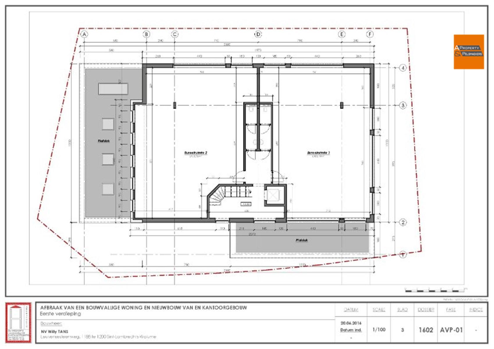 Image 4 : Immeuble de bureaux à 1932 Sint-Stevens-Woluwe (Belgique) - Prix 315.000 €