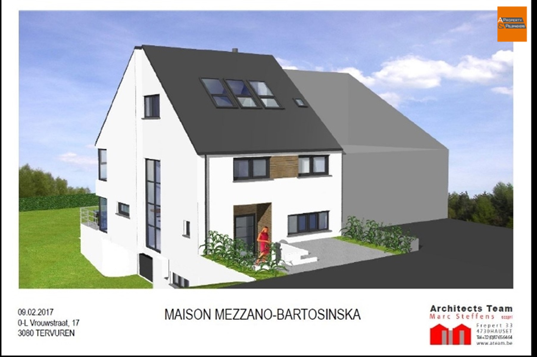 Image 4 : Building land IN 3080 VOSSEM (Belgium) - Price 219.000 €