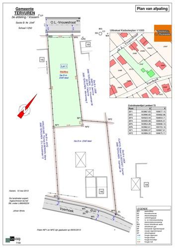 Building land IN 3080 VOSSEM (Belgium) - Price