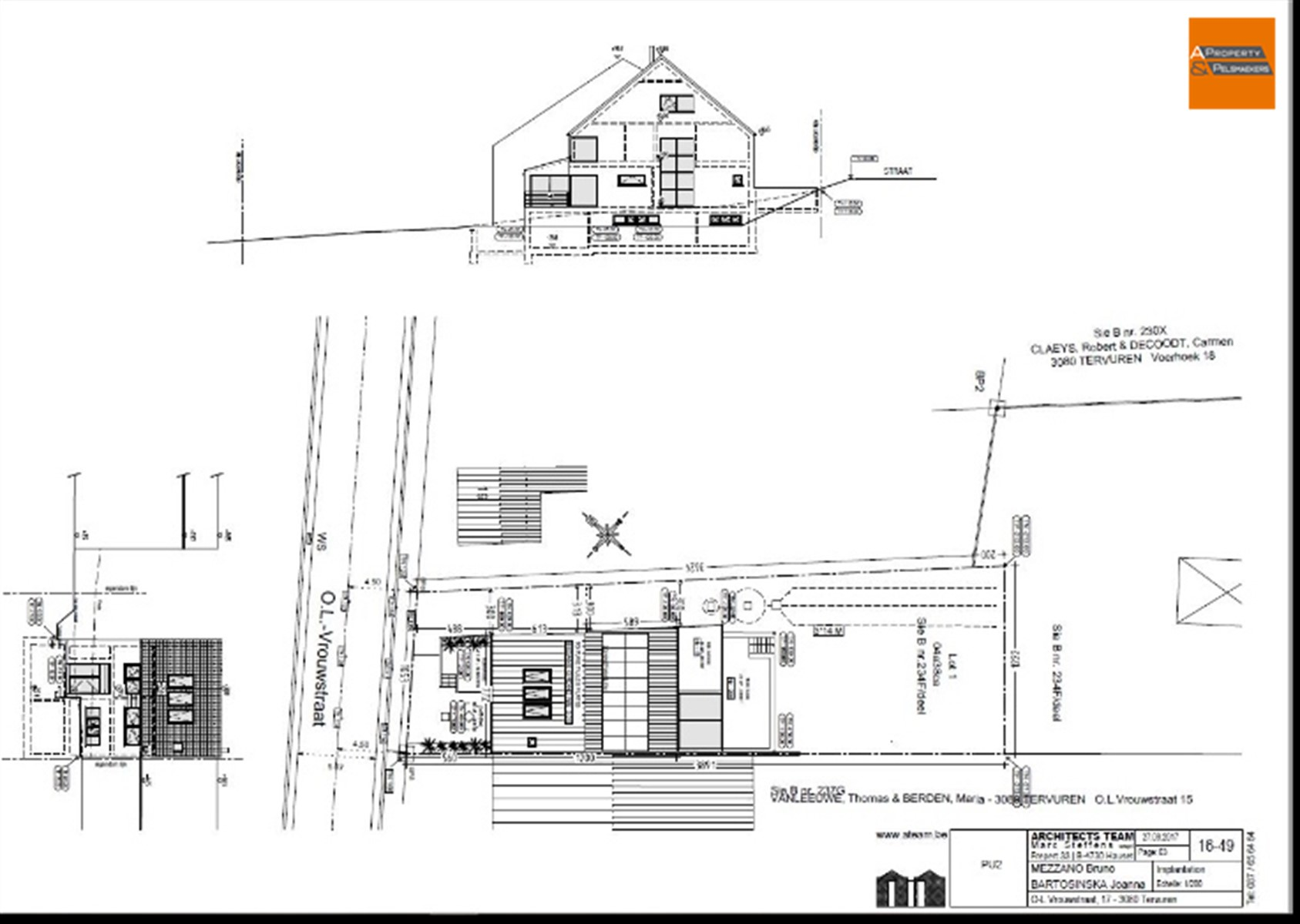 Image 3 : Building land IN 3080 VOSSEM (Belgium) - Price 219.000 €