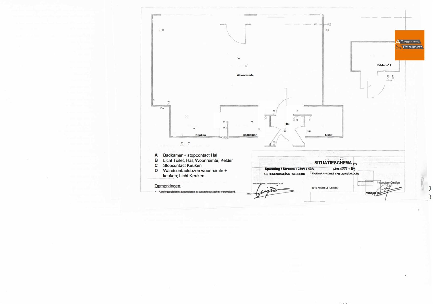 Foto 15 : Flat/studio in 3010 KESSEL-LO (België) - Prijs € 159.000