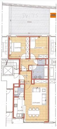 Foto 20 : Appartement in 3000 LEUVEN (België) - Prijs € 935