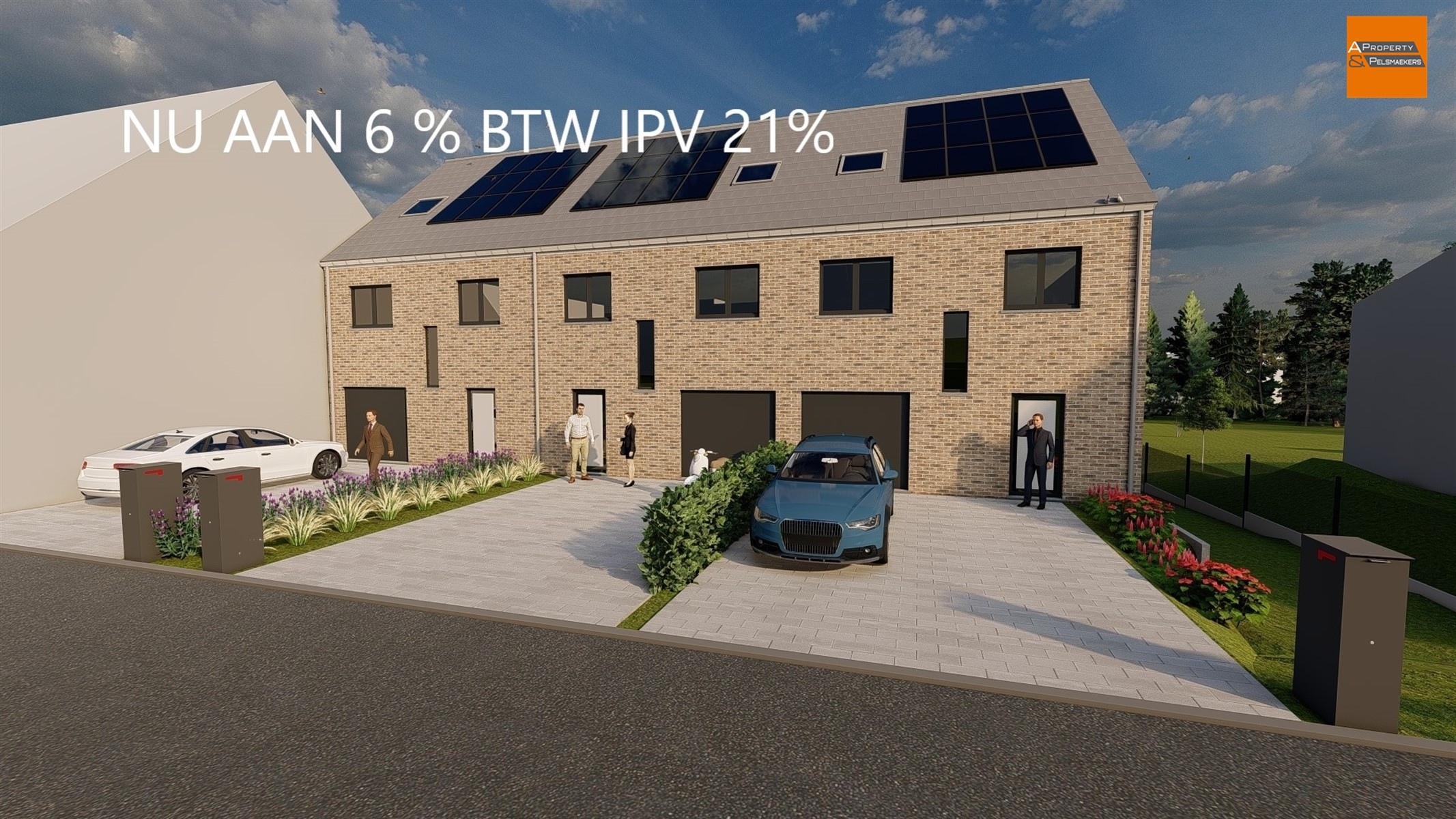 Real estate project : Egenhovenstraat IN BERTEM (3060) - Price from 447.100 € to 490.500 €