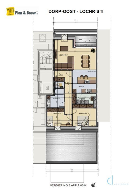 Foto 2 : Appartement te 9080 LOCHRISTI (België) - Prijs € 303.020