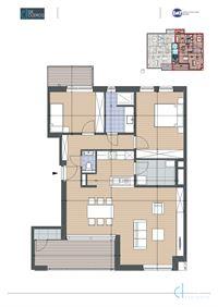 Foto 1 : Appartement te 9080 LOCHRISTI (België) - Prijs € 347.500