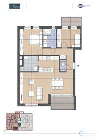 Foto 1 : Appartement te 9080 LOCHRISTI (België) - Prijs € 332.500