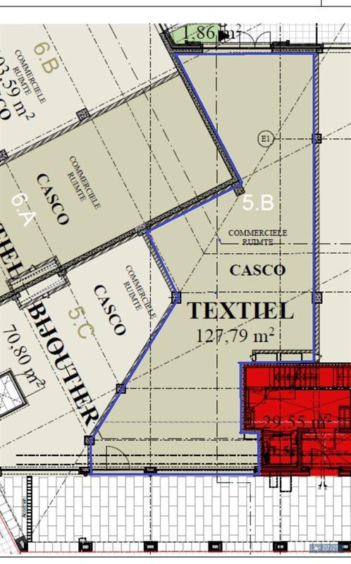 Foto 5 : Winkelruimte te 1780 WEMMEL (België) - Prijs € 2.500
