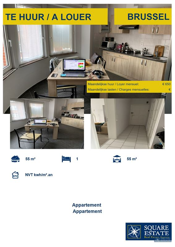 Foto 12 : Appartement te 1020 BRUSSEL (België) - Prijs € 650