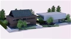 Foto 1 : Nieuwbouw 3 luxueuze nieuwbouwwoningen vlakbij het Afrikamuseum te TERVUREN (3080) - Prijs