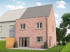 Foto 6 : Nieuwbouw Bouwgronden voor 4 halfopen en 1 open bebouwing vlakbij het centrum van Mechelen te MECHELEN (2800) - Prijs