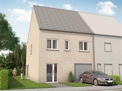 Foto 7 : Nieuwbouw Bouwgronden voor 4 halfopen en 1 open bebouwing vlakbij het centrum van Mechelen te MECHELEN (2800) - Prijs