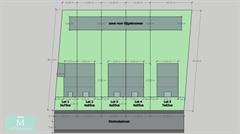 Foto 3 : Nieuwbouw Bouwgronden voor 4 halfopen en 1 open bebouwing vlakbij het centrum van Mechelen te MECHELEN (2800) - Prijs