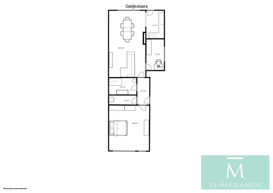 Foto 15 : Appartementsgebouw te 2800 MECHELEN (België) - Prijs € 945.000