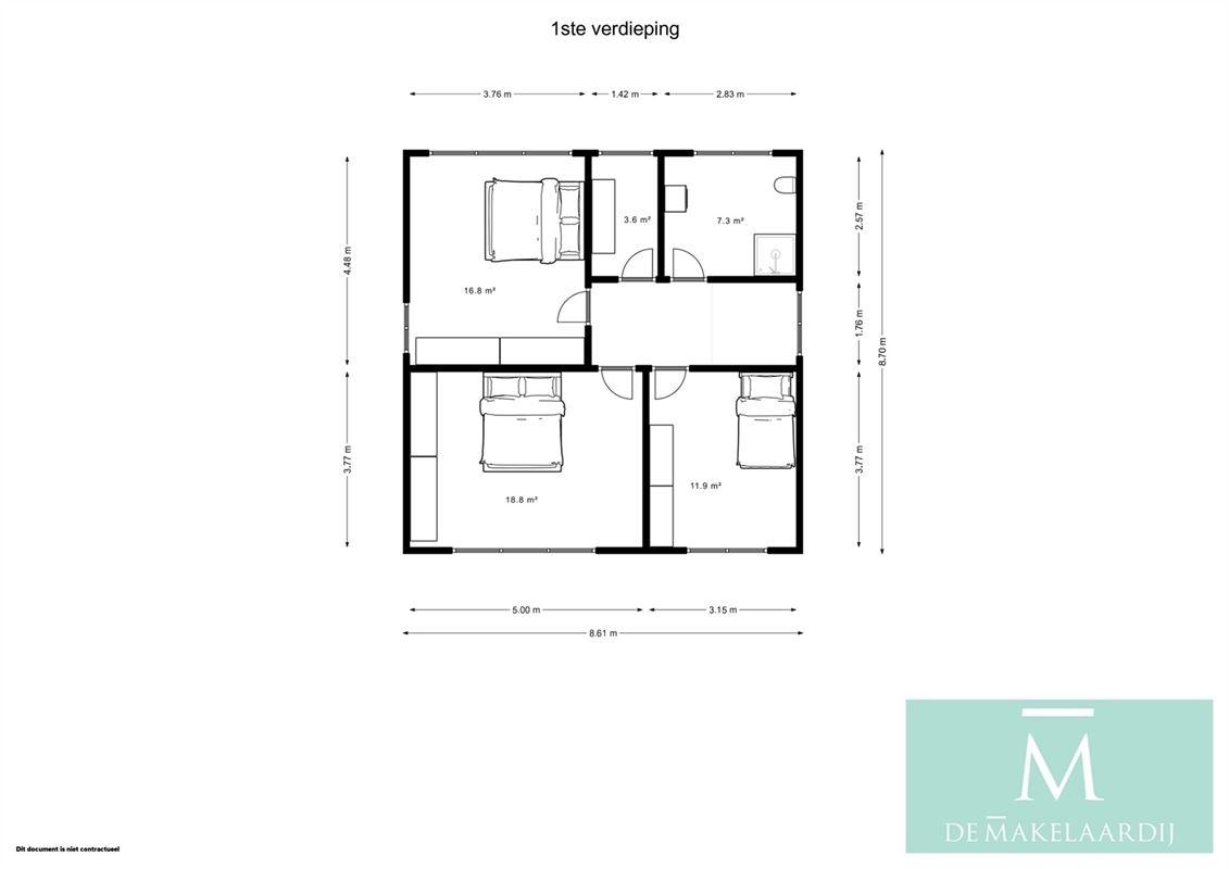 Foto 19 : Huis te 2811 HOMBEEK (België) - Prijs € 509.000