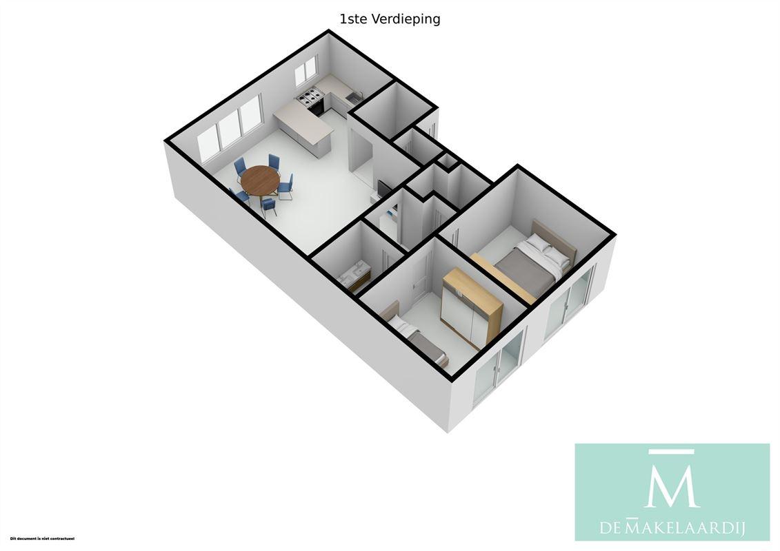 Foto 18 : Appartement te 2800 MECHELEN (België) - Prijs In optie