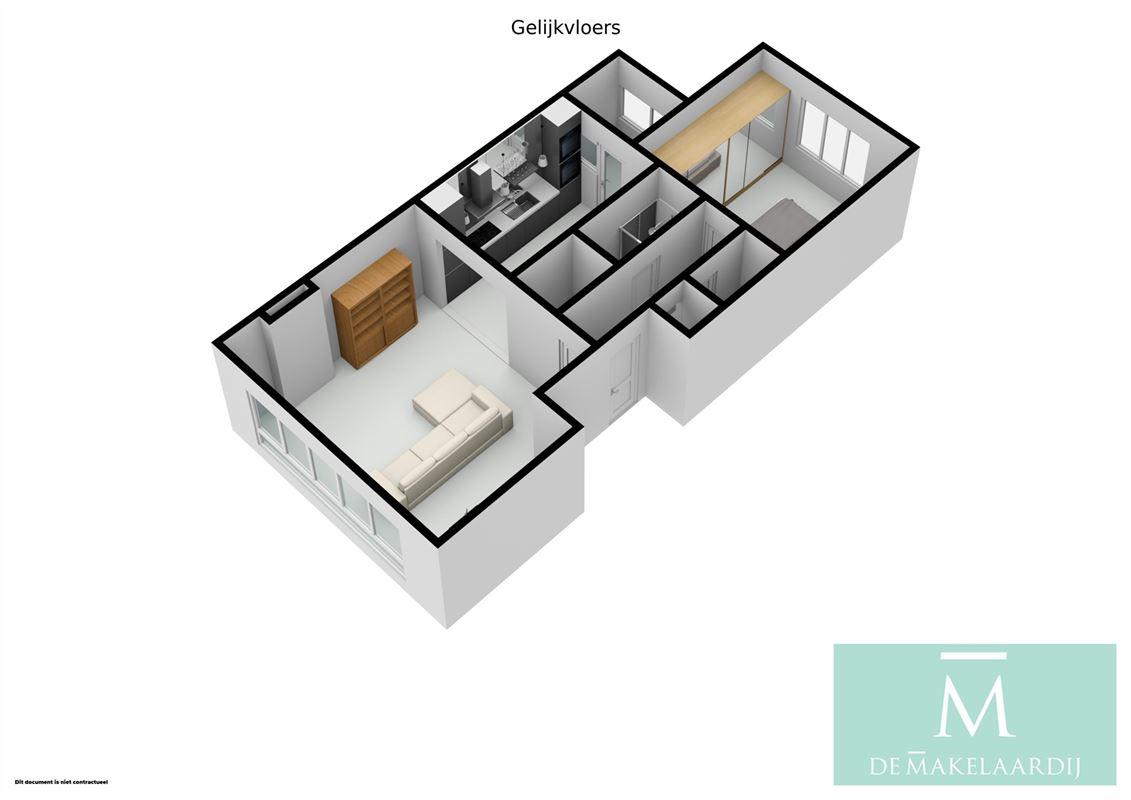 Foto 18 : Appartementsgebouw te 2800 MECHELEN (België) - Prijs In optie