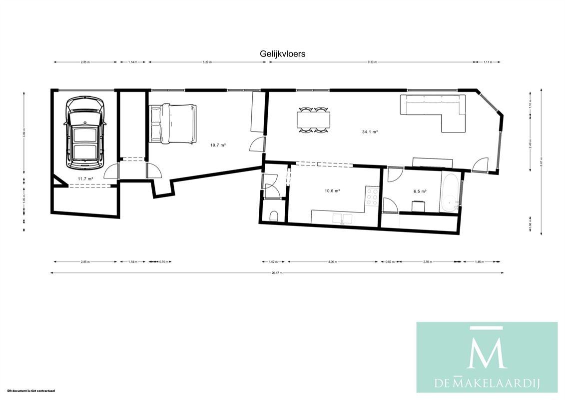 Foto 20 : Appartement te 2800 MECHELEN (België) - Prijs In optie