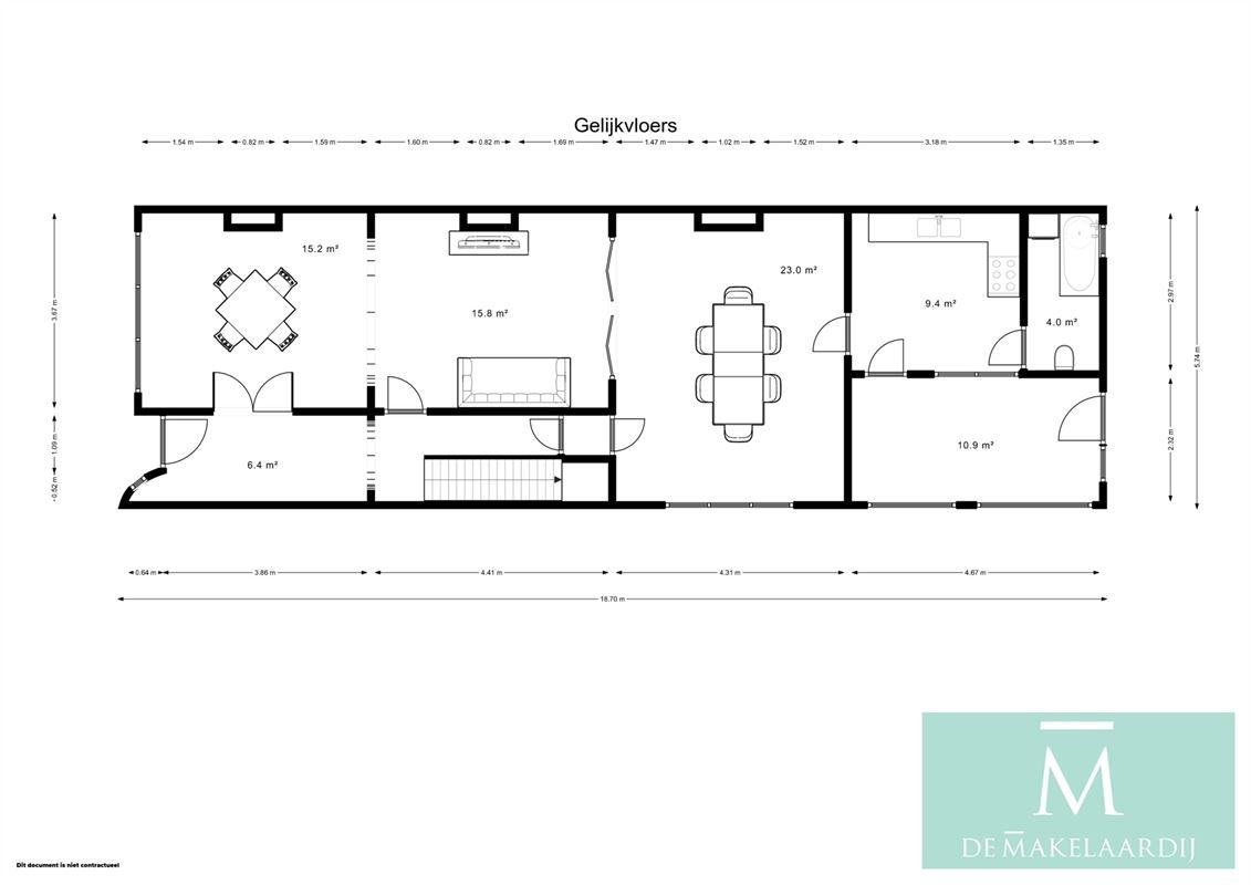 Foto 33 : Huis te 2800 MECHELEN (België) - Prijs € 420.000